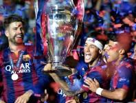 Fünfmaliger UEFA Champions League Sieger FC Barcelona.