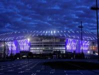 Unsere Plätze im Stade de Lyon (Parc Olympique Lyonnais) bieten beste Sicht auf den Rasen und die Akteure.