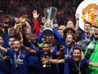 Gewinner des UEFA Europa League Finals 2017 - Manchester United.