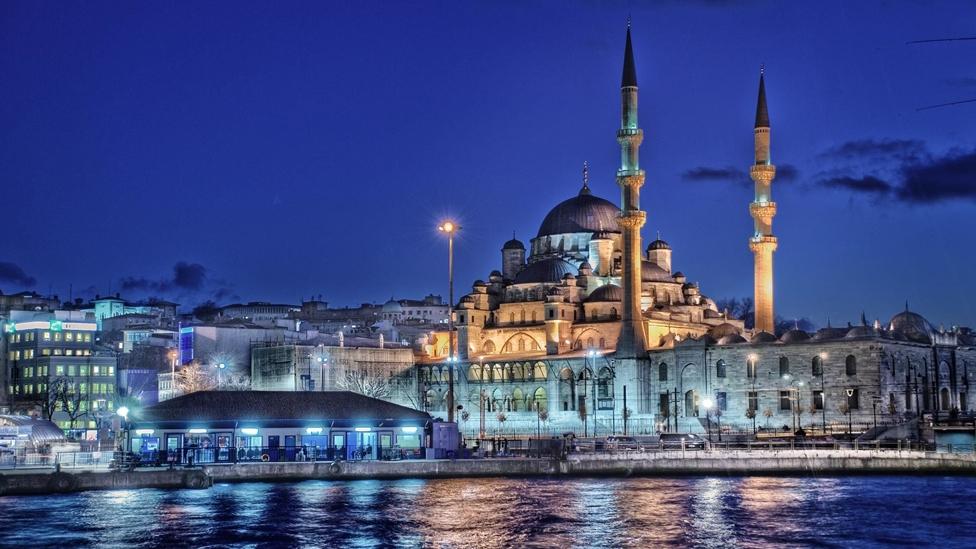 Istanbul - Austragungsort des Champions League Finals 2021