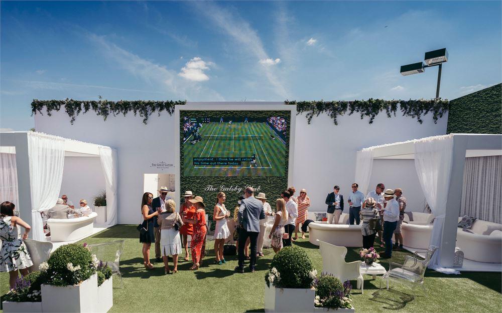 Wimbledon The Gatsby Club Hospitality-Bereich