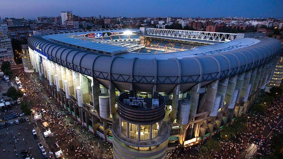 Estadio Santiago Bernabéu Heimstätte Real Madrid