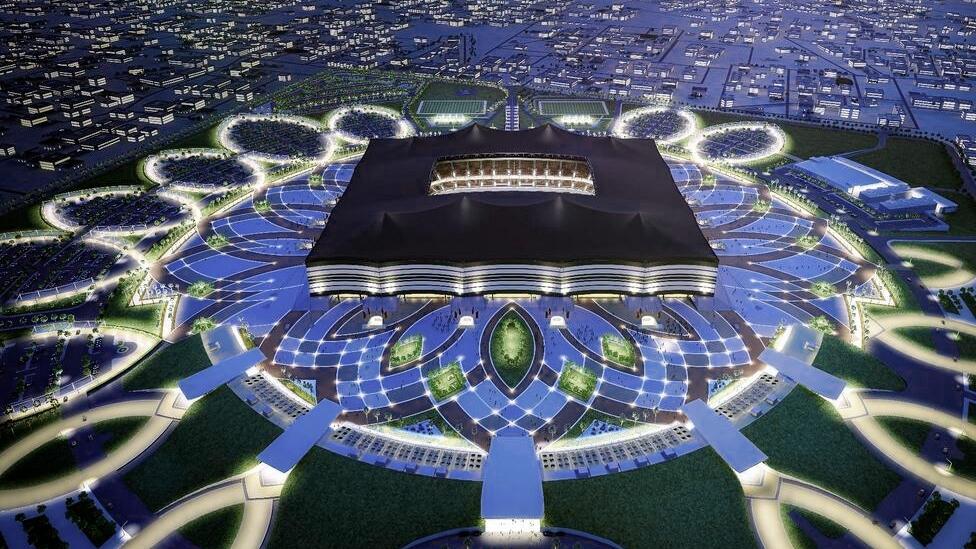 Al-Bayt-Stadion in al-Chaur, Katar - Austragungsort der FIFA WM 2022