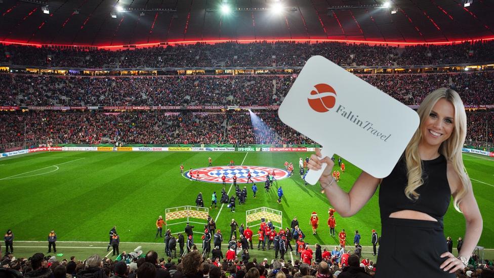 Ausverkauftes Heimspiel des FC Bayern München in der Allianz Arena