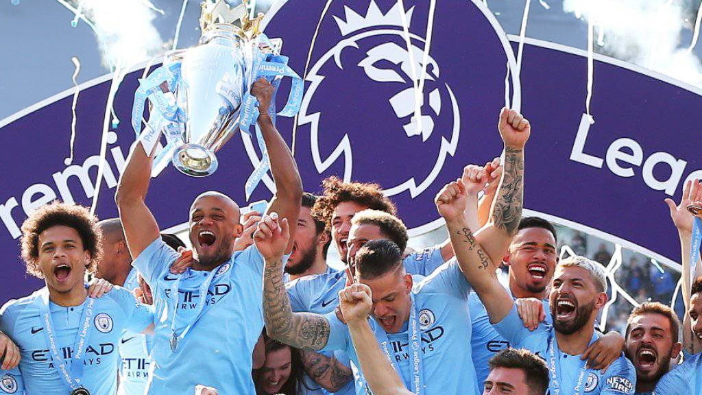 Manchester City - Englischer Meister 2019