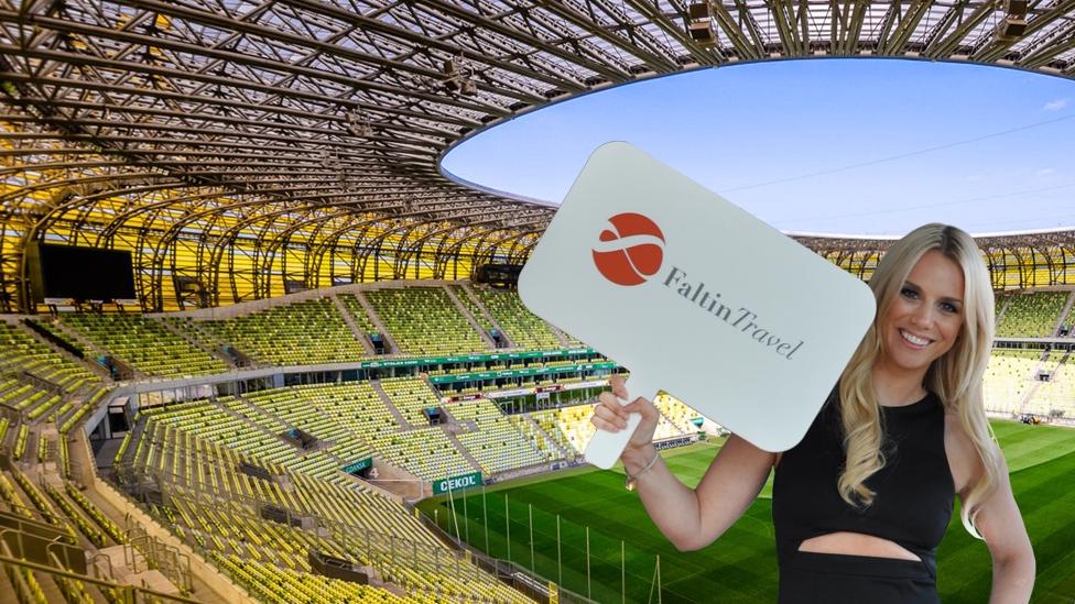 Innenansicht Stadion Energa Gdańsk