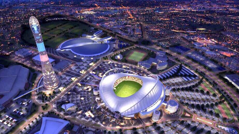 Khalifa International Stadium - Austragungsort der FIFA WM 2022
