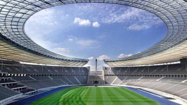 Olympiastadion Berlin - Blick auf das Marathontor