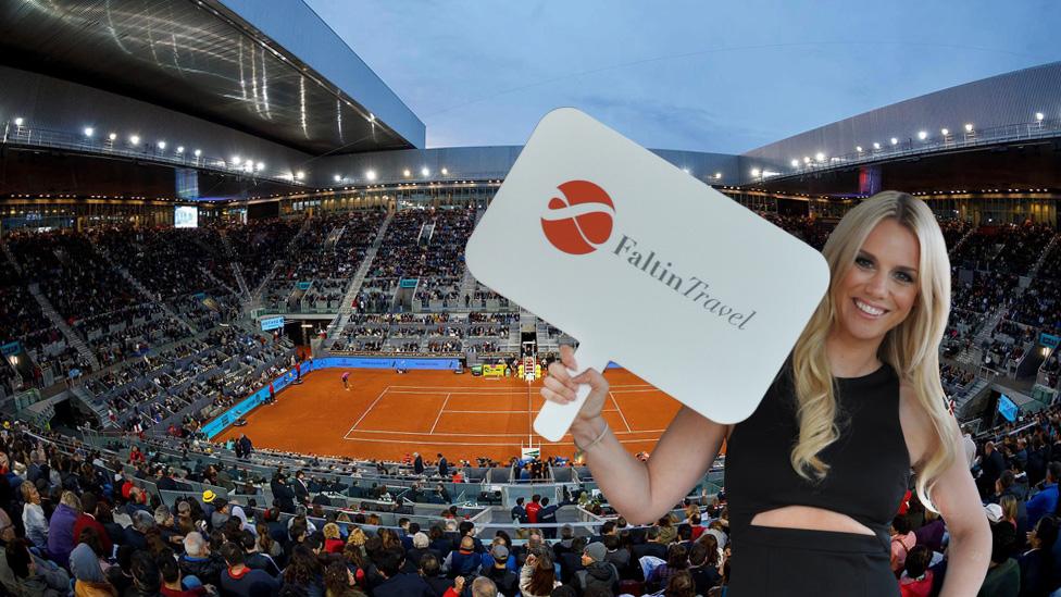 Mutua Madrid Open Stadion - Caja Mágica
