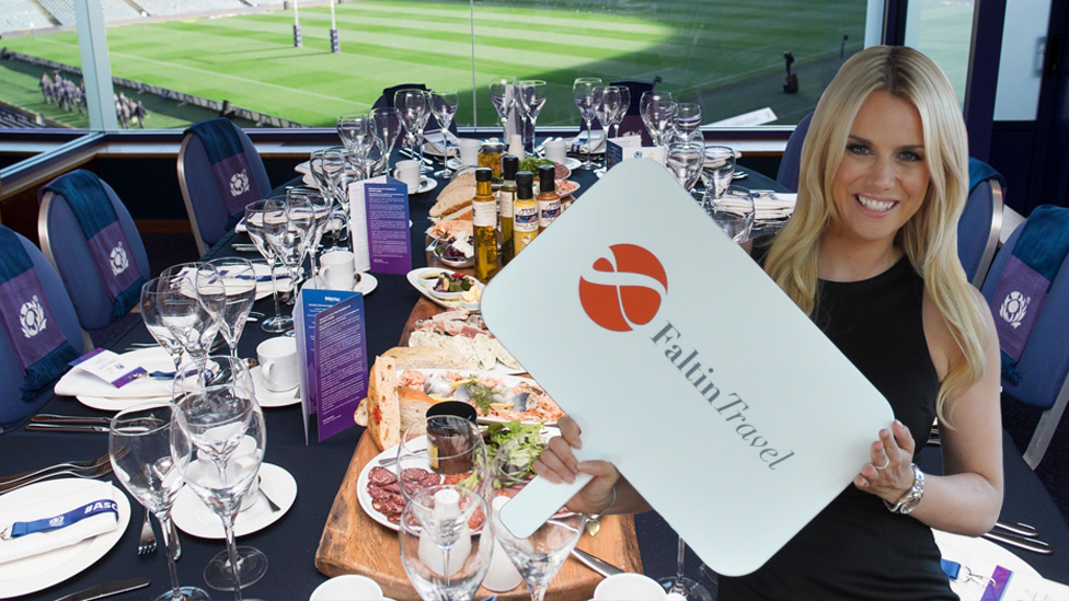 Rugby Union Hospitality-Bereich
