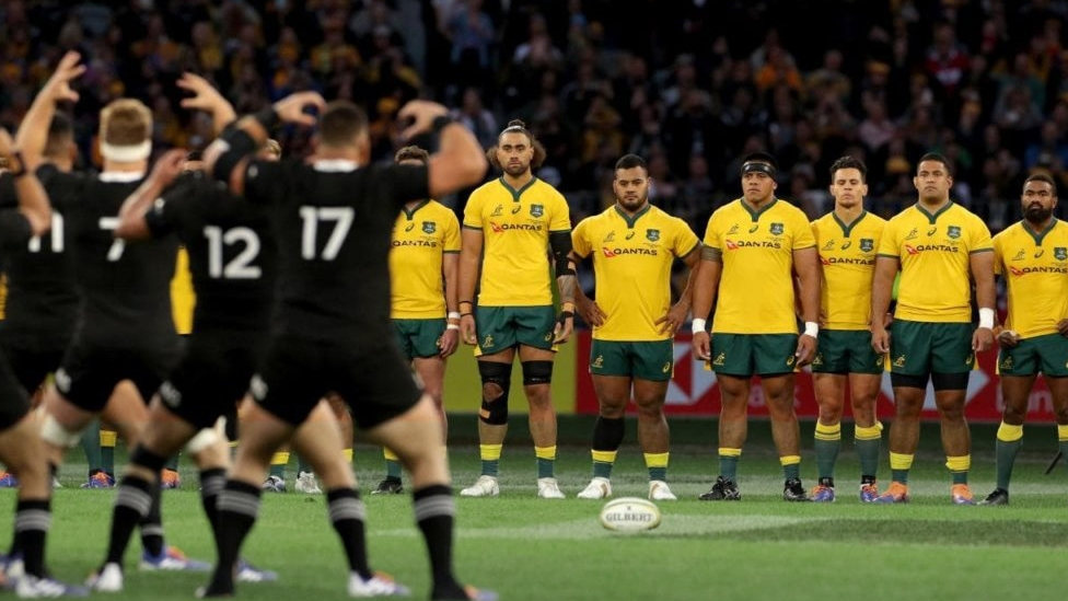 Rugby Union Partie Neuseeland - Südafrika