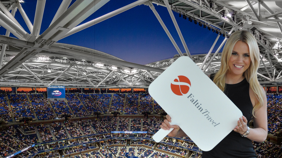Arthur Ashe Stadium Innenansicht