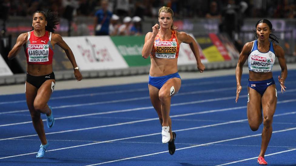 Leichtathletik EM 800 Meter Frauen